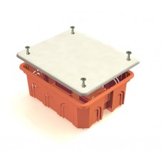 Распаячная коробка СП 120х92х45 мм крышка пластиковые лапки IP20 TDM SQ1403-1028