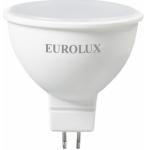 Лампа светодиодная LL-E-MR16-7W-230-4K-GU5.3 (рефлектор, 7Вт, нейтральный) Eurolux 76/2/24