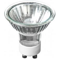 Лампа галогеновая Camelion 35Вт GU10 c защитным стеклом