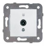 ТV розетка, оконечная белая (узел)WKTT04512WH-BY Panasonic