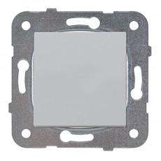Выключатель 1-кл серебро (узел)WKTT00012SL-BY Panasonic без рамки