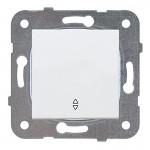 Выключатель 1-кл перекрестный белый WKTT00052WH-BY Panasonic без рамки
