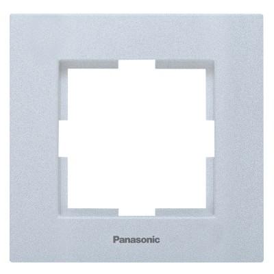 Рамка 1-постовая серебро WKTF08012SL-BY Panasonic