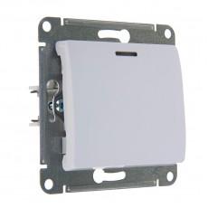 Выключатель одноклавишный Schneider Electric Glossa GSL000113 (с подсветкой, белый)