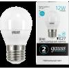 Лампа Gauss LED Elementary Шар 12W 920lm E27 4100K 1/100 53222
