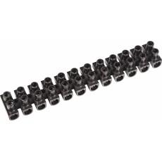 Клеммная колодка КВ-4 PROconnect 3А 4мм полипропилен черная  07-5004-2-9