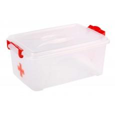 """Контейнер прямоугольный с ручками """"Аптечка"""" 7,5 литров М7372"""