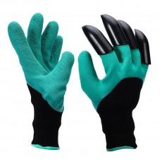 Перчатки Нейлон Облив Латекс 4 пластиковых когтя на правой руке 'Praktische Home' G-110