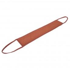 Мочалка «Королевский пилинг», лента стёганая, 9,5*45 см (9,5*70 см с ручками), в ассортименте 3 цвета