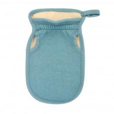Мочалка «Королевский пилинг», рукавица двусторонняя на резинке, 13,5*23 см, в ассортименте 3 цвета Банные штучки