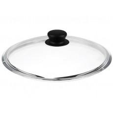Крышка стеклянная с бобышкой 26см LID105B