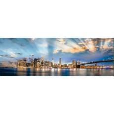 Декоративное панно Манхеттен 392х134  (8 листов)