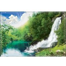 Декоративное панно Звенящие водопады 294х201 (9 листов)