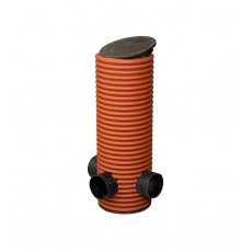 Дренажный колодец 315, h-1м, 2 отвода диаметр 110мм