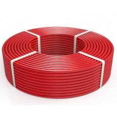 Труба PERT 16х2.0 (бухта 100м) красная Экономь R-ALT