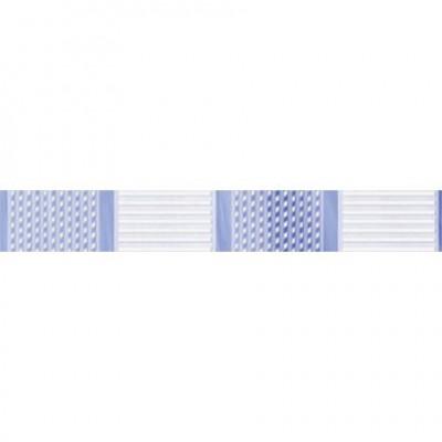 Бордюр Агата голубой 3,5*25*0,7 см