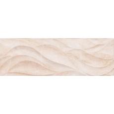 Плитка Pegas настенная бежевый рельеф 17-10-11-1179 20*60 см