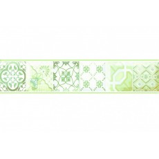 Бордюр Равенна зеленый G 6*30