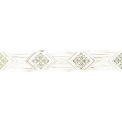 Бордюр керамический 10200000102 Calacatta Gold GT 7,5*40