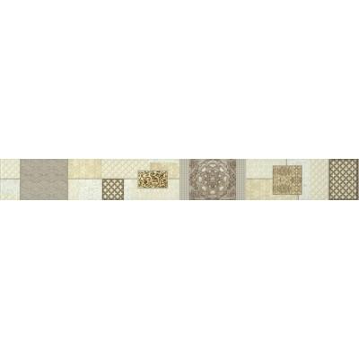 Бордюр керамический  БВ175021 LUNA_IC Бежевый 60*7