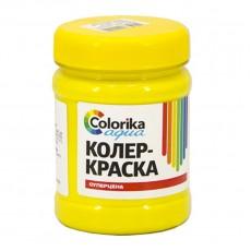 "Колер-краска ""Colorika aqua"" желтая 0,3 кг"