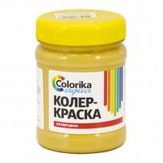 "Колер-краска ""Colorika aqua"" охра желтая 0,3 кг"