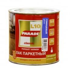 """Лак паркетный """"PARADE"""" L-10 алкидно-уретановый глянцевый 2,5 л"""