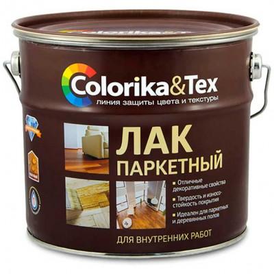 """Лак паркетный матовый """"Colorika&Tex"""" 2,7 л"""