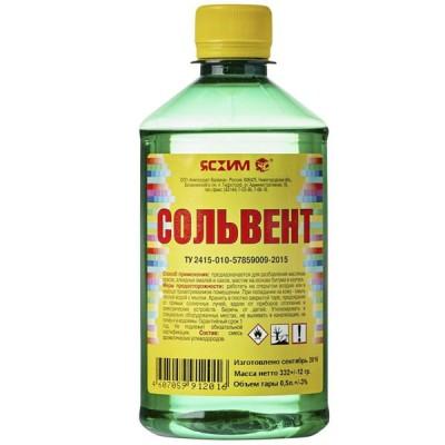 Сольвент ПЭТ 0,5 л