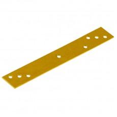 Крепление узкое RLW6 желтое 240х20х4