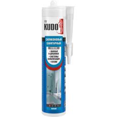 Герметик KUDO санитарный белый 280 мл