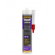 Герметик силиконовый DONEWELL универсальный бесцветный 260 мл