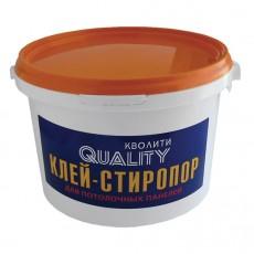 Клей для пенополистирола Quality стиропор 1,5 кг