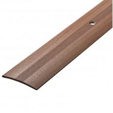 Порог А5-37мм алюминиевый Дуб шато №188 длина 0,9м