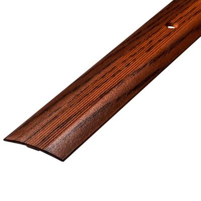 Порог АЛ-163 стык/упак/дуб темный 0,9 м