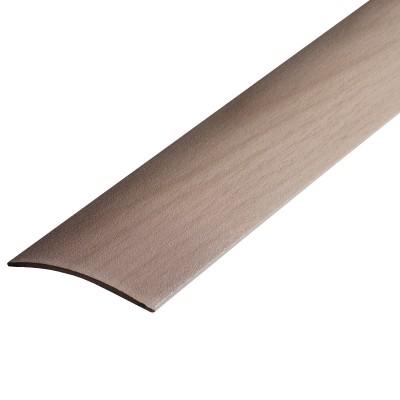 Порог В4-41мм алюминиевый  Дуб выбеленный №173 длина 0,9,скрытый крепеж