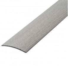 Порог А5-37 мм алюминиевый Дуб арктический № 105, 0,9м