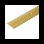 Порог А5-37мм алюминиевый анодированный Золото (КЕ) длина 0,9м