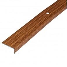 Порог-угол Д1 24х10мм алюминиевый декор Дуб универсальный№084 дл.0,9м