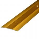 Порог АЛ-125 стык/упак/золото 1,35м