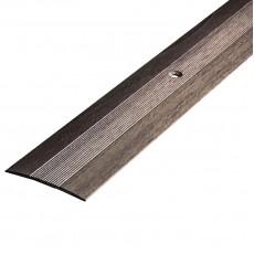 Порог АЛ-125 стык/упак/дуб серый 0,9 м