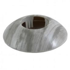Розетты напольные пластиковые d-43мм Сосна серебристая №195 ГРЕЙС (1уп-2шт)