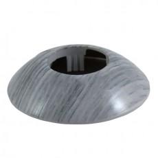 Розетты напольные пластиковые d-32мм Ольха серая №102 ГРЕЙС (1уп-2шт)