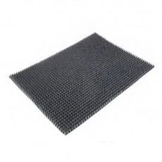 Коврик напольный из щетинистого покрытия 45х60 см, мокрый асфальт