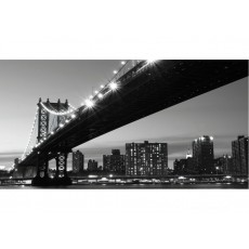 Декоративное панно Ночной Бруклин DECOCODE 13-0282-WВ (130х250 см)