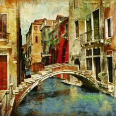 Фотообои Венецианский мостик DECOCODE 41-0079-WG (400х280см)