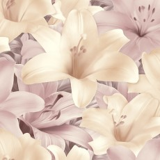 Обои бумажные Лилии 1035-01 обои дуплекс Пермь 0,53*10м розово-бежевые