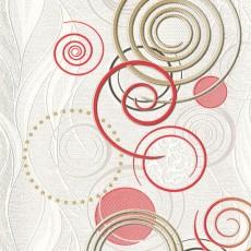 Обои виниловые на бумажной основе Спираль 793857-06 0,53*10 м