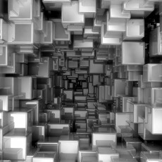 Фотообои Кубическая абстракция DECOCODE 41-0179-АВ (400х280см)