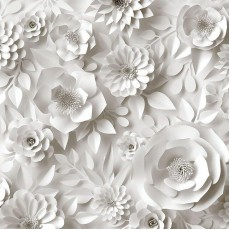 Фотообои на флизелине Бумажные цветы (300х270)